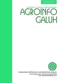 Jurnal Ilmiah Mahasiswa AGROINFO GALUH